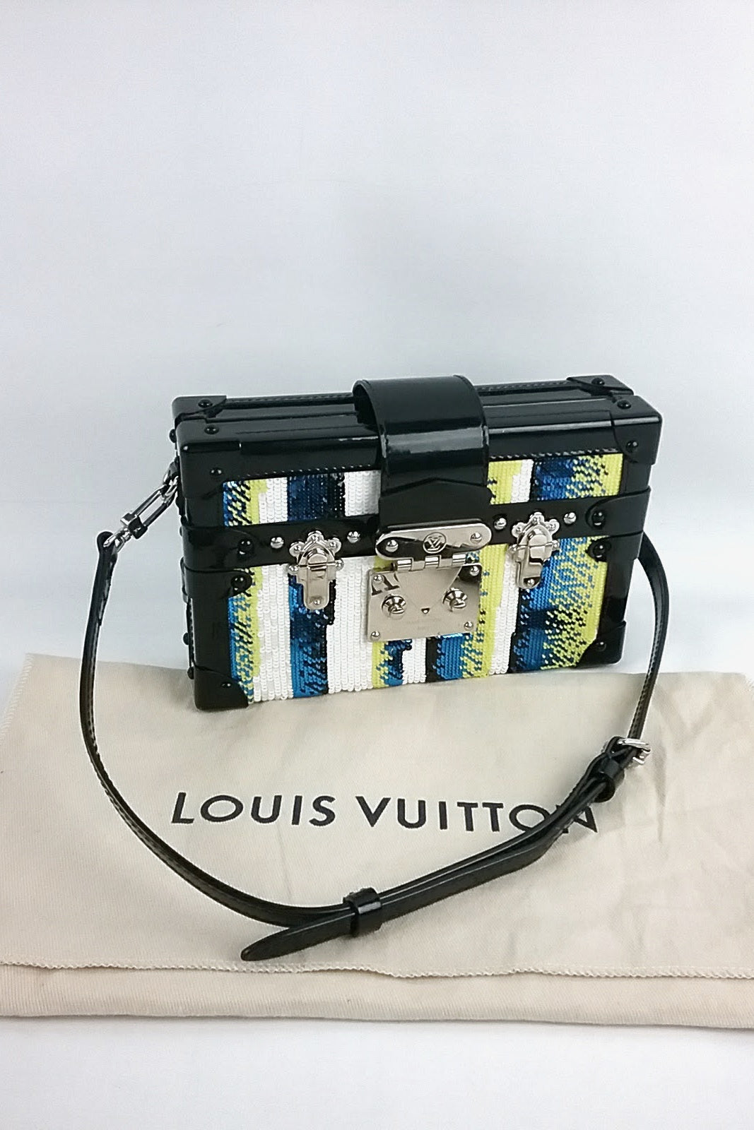 Limited Edition Sequins Petite Malle Bag