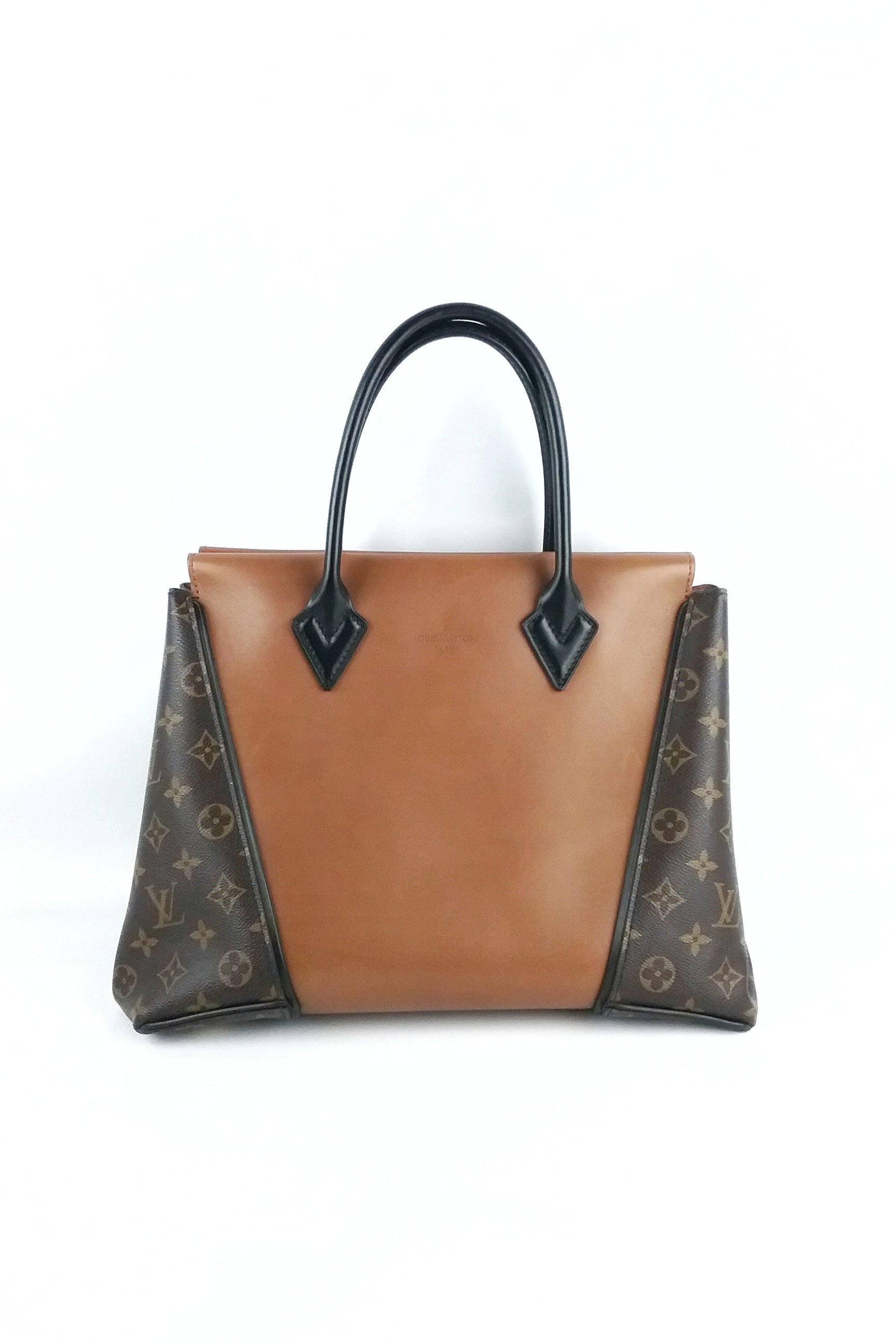 Monogram Canvas Leather W Tote