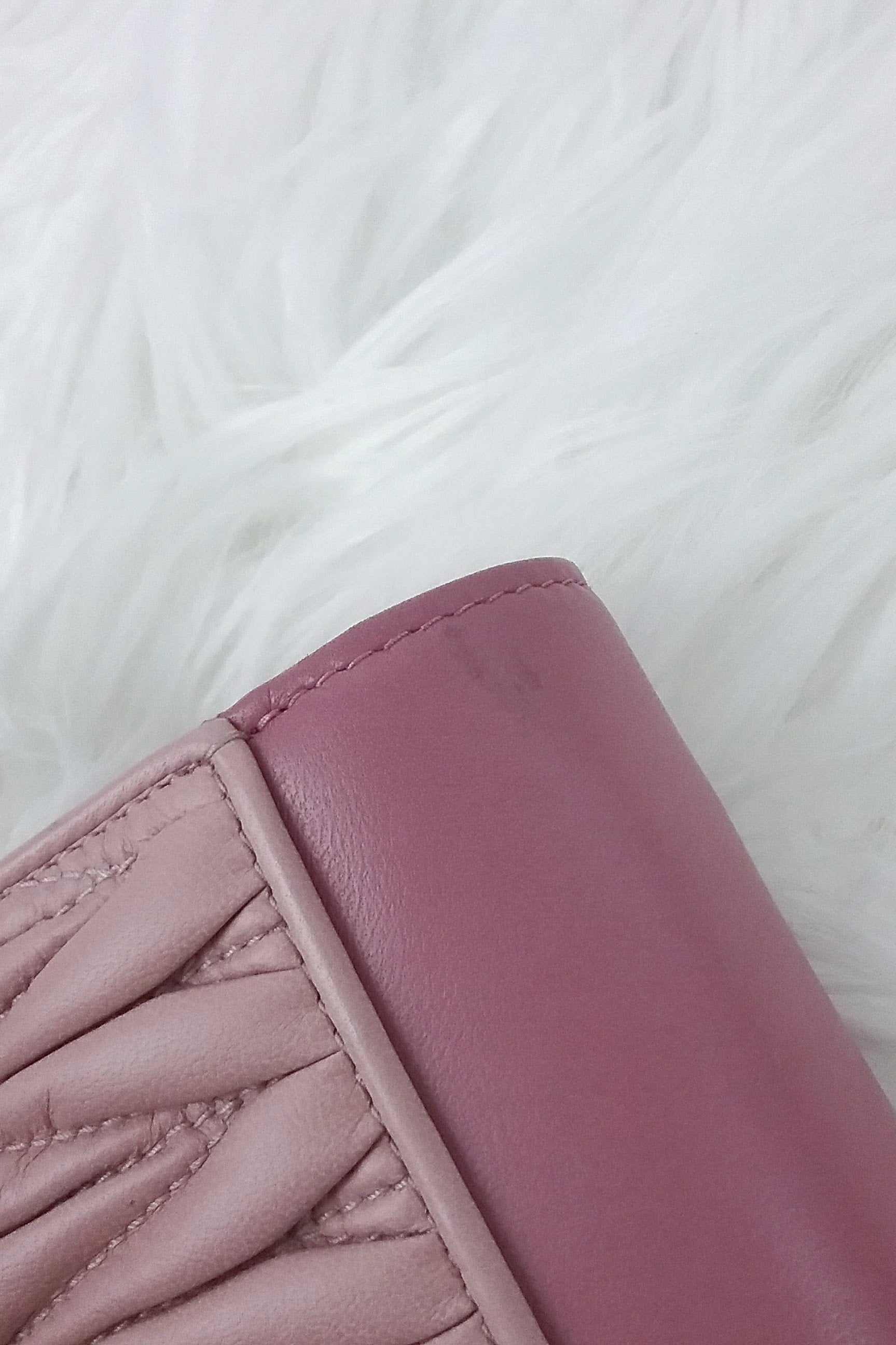 Nappa Matelasse Pink Rosa Mughetto WOC (Wallet On Chain)