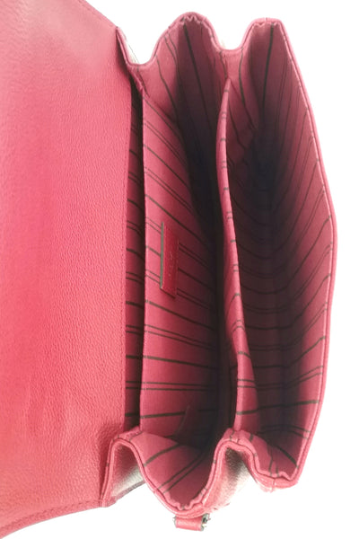 Cerise Monogram Empreinte Leather Pochette Metis