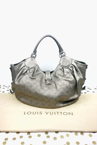 Bicolour Diamante Bambo Top Handle Bag