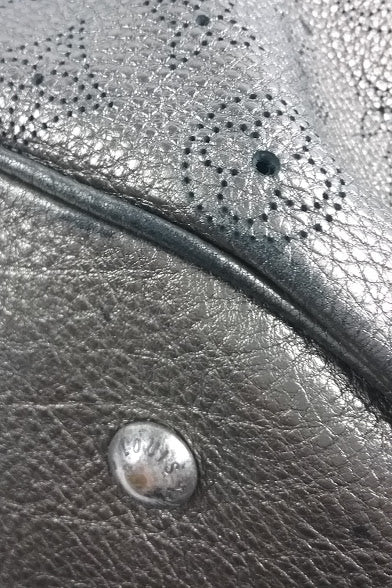 Metallic Silver XL Mahina Bag