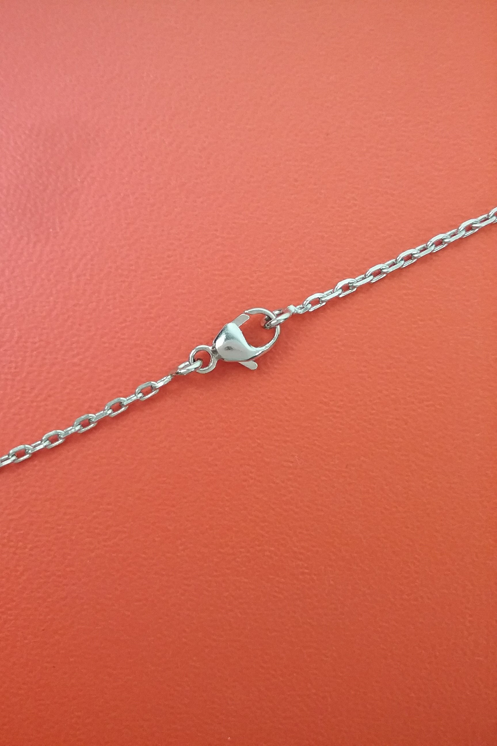 Framboise Chaine d'Ancre Pendant On Chain PHW