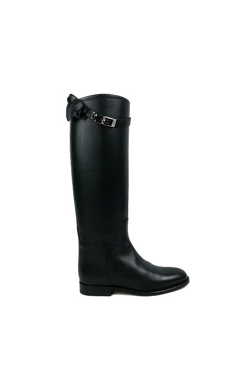 Black Box Calf Jumping Boots - Haute Classics