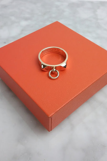 Rose Gold Collier de Chien Ring