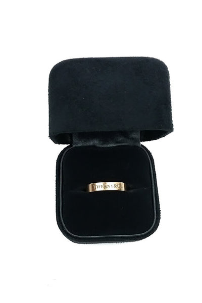 18k Yellow Gold 4mm Wedding Band - Haute Classics
