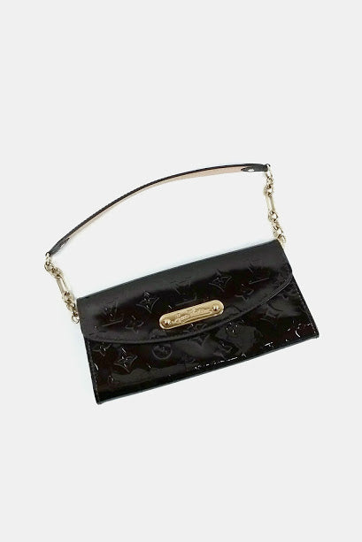 Amarante Vernis Sunset Boulevard Evening Clutch - Haute Classics