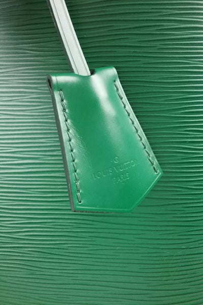 Green Epi Leather Alma GM Bag