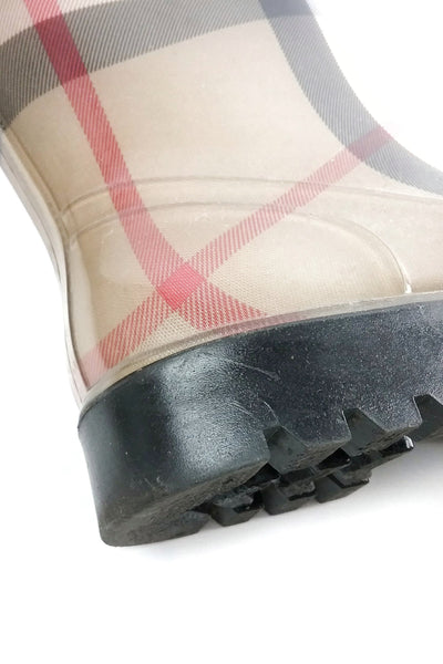 Haymarket Check Rubber Rainboots