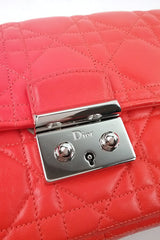 Orange Cannage Miss Dior Small Flap Bag