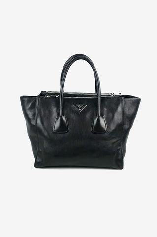 Black Fjord JPG Shoulder Birkin 42 Bag w/ PHW
