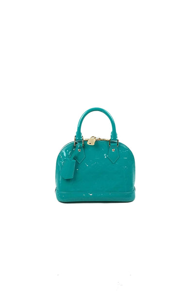 Mint Vernis Leather Alma BB Bag - ON LAYAWAY