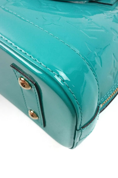 Mint Vernis Leather Alma BB Bag