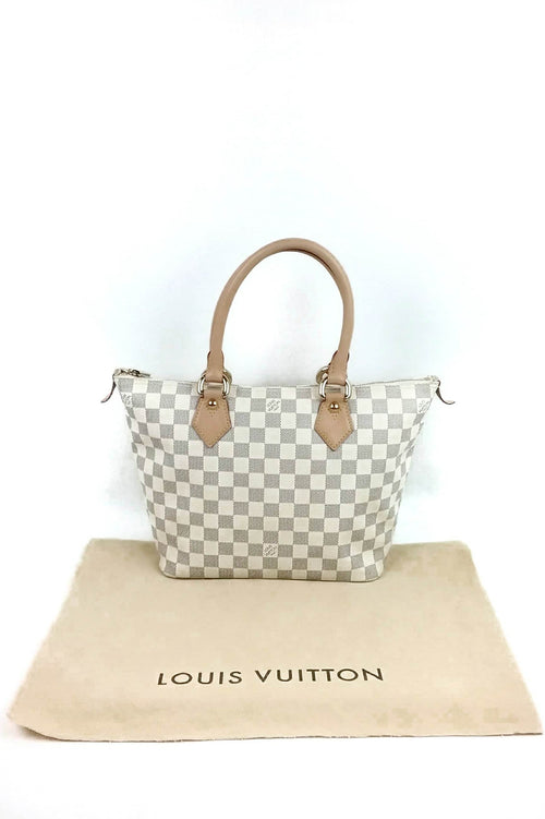 Damier Azur Saleya PM Tote Bag