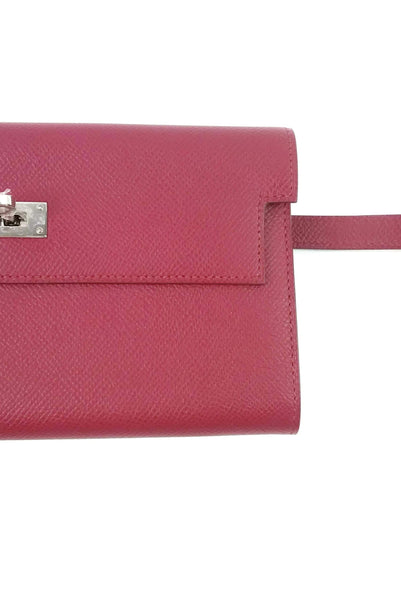 Ruby Epsom Kelly Longue Wallet PHW
