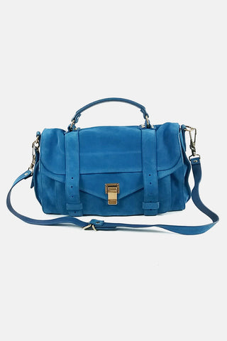 Nova Check Canvas Shoulder Bag