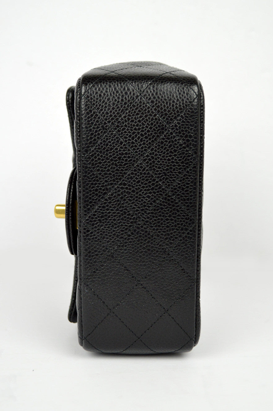 Black Caviar Square Mini Bag GHW (ON LAYAWAY)