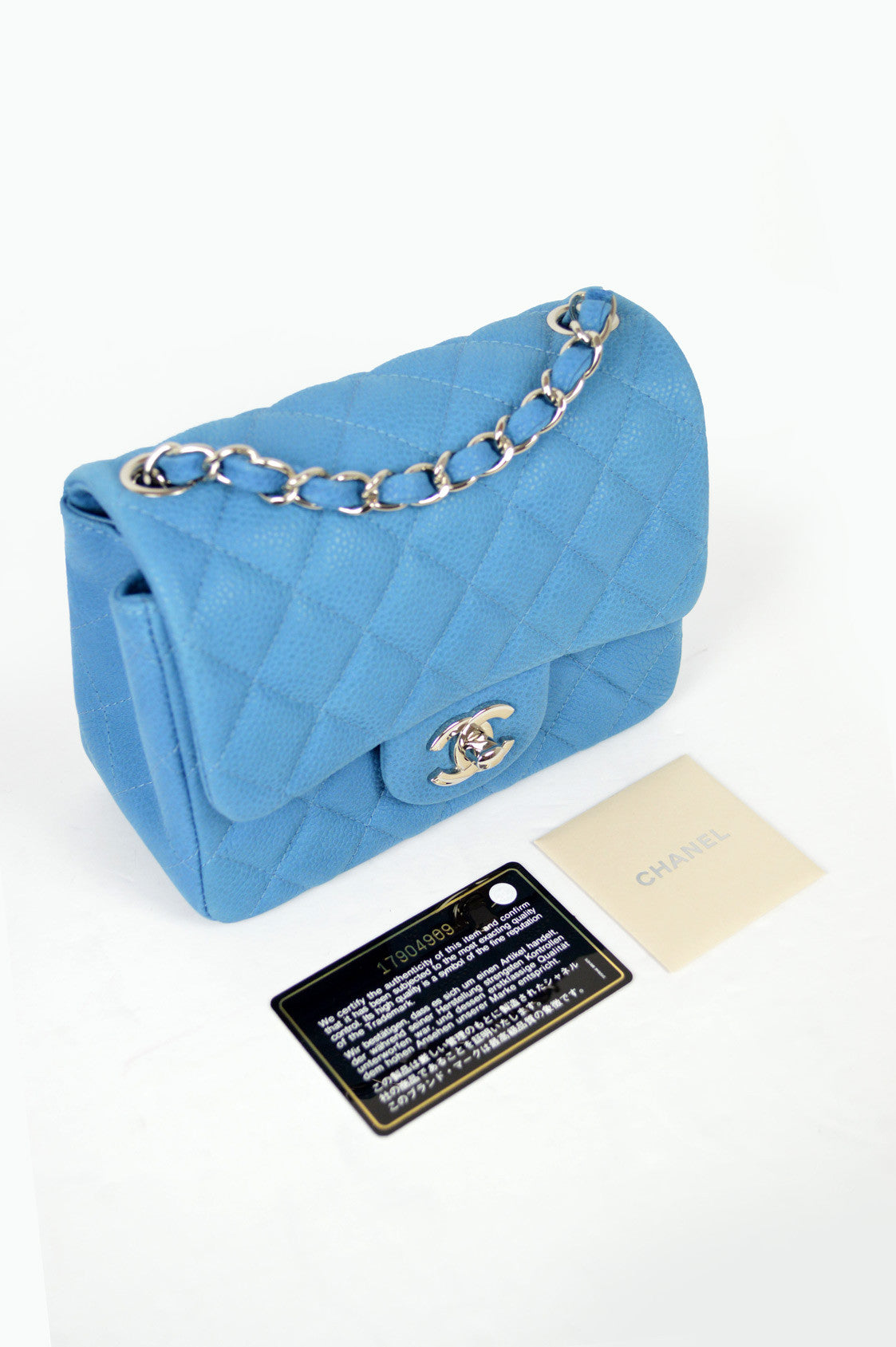 Blue Caviar Square Mini Bag SHW