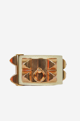 Craie Swift Leather Collier de Chien Small Cuff - Haute Classics