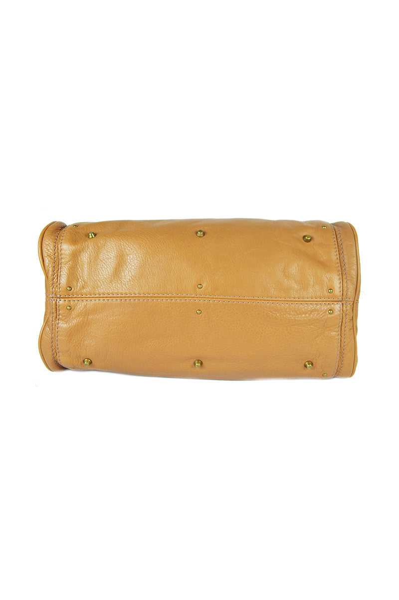 Tan Leather Paddington Shoulder Bag