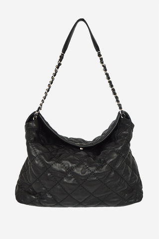 Black On the Road Shoulder Bag