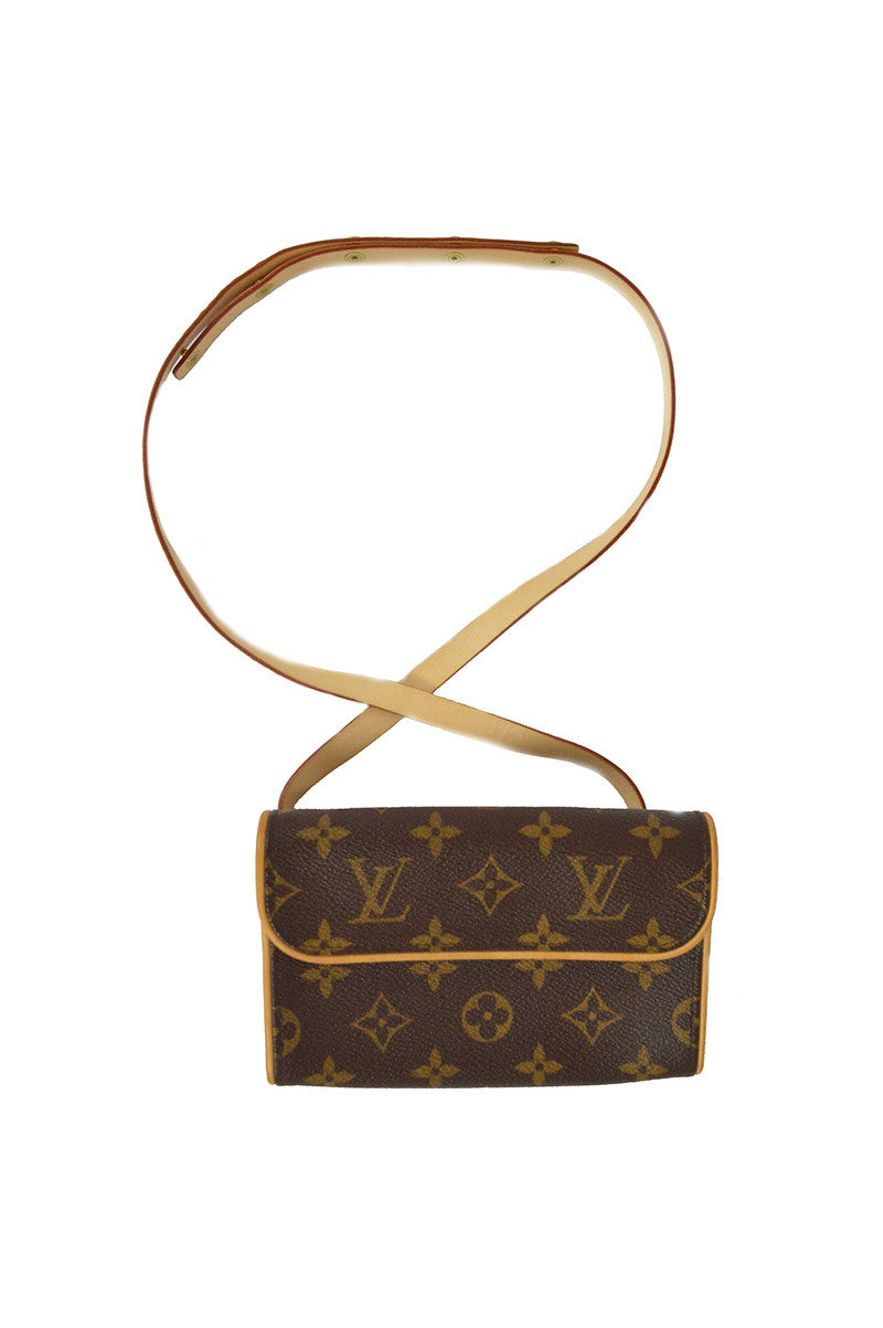 Florentine Monogram  Coated Canvas Belt Bag