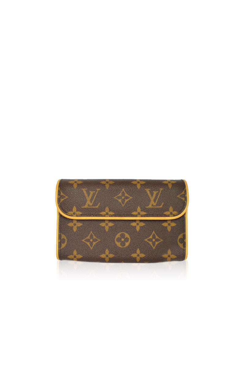Florentine Monogram  Coated Canvas Belt Bag - Haute Classics