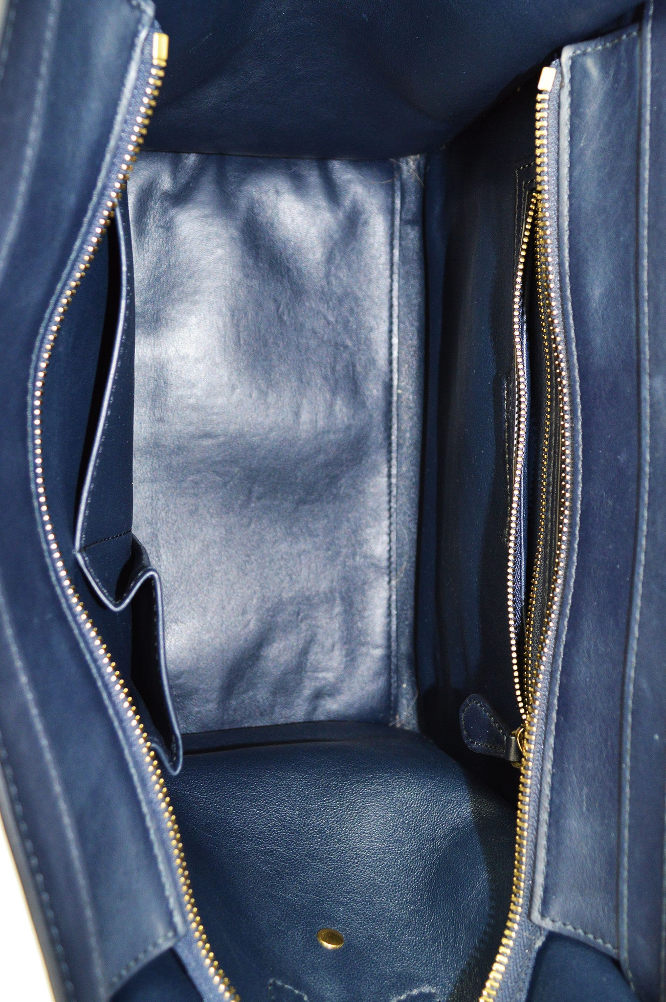 Navy Mini Luggage Tote - Haute Classics