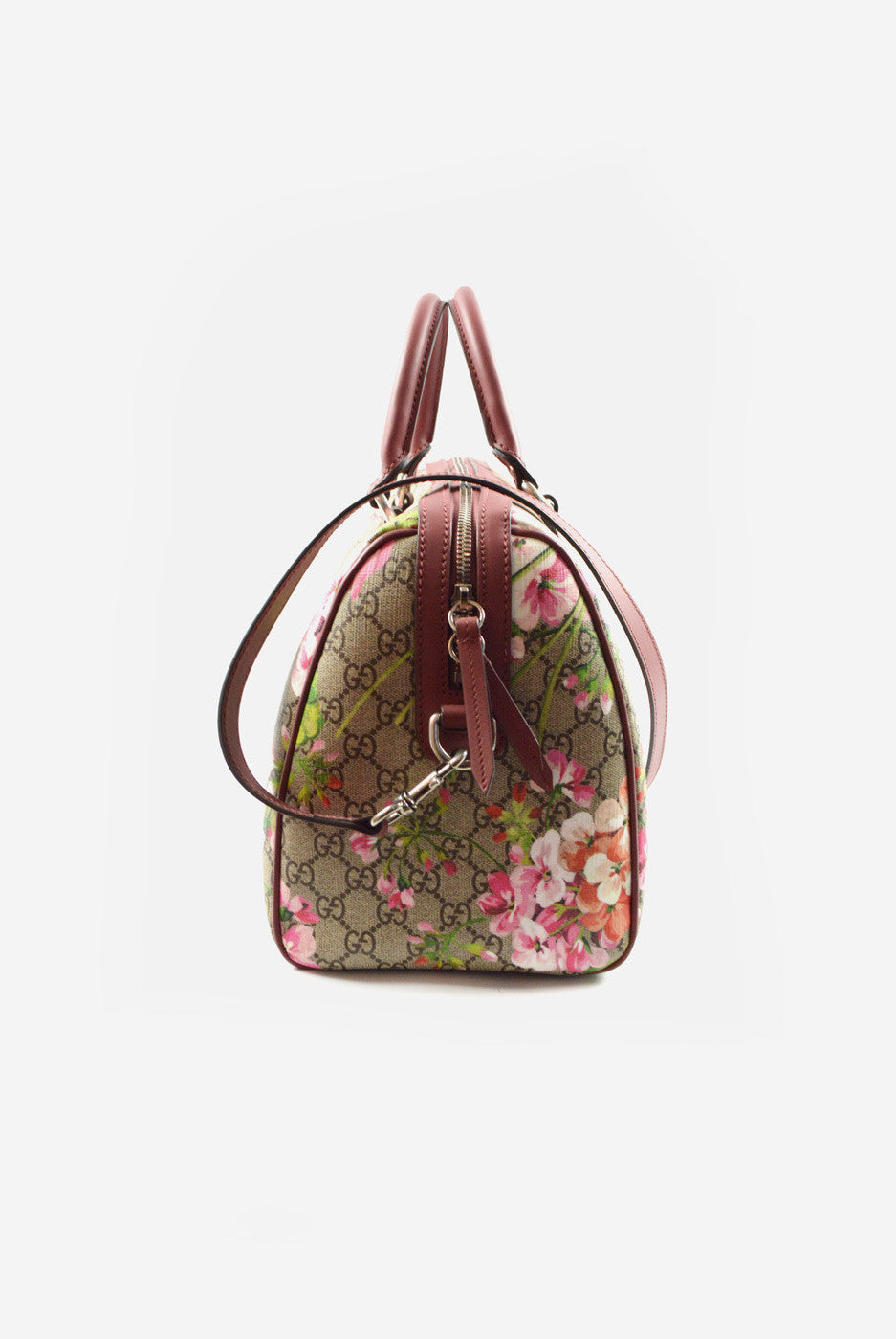 Medium Blooms GG Supreme top handle bag