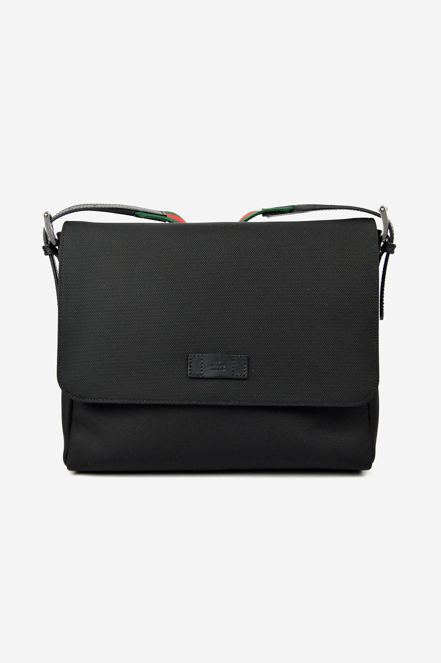 Black Canvas Crossbody