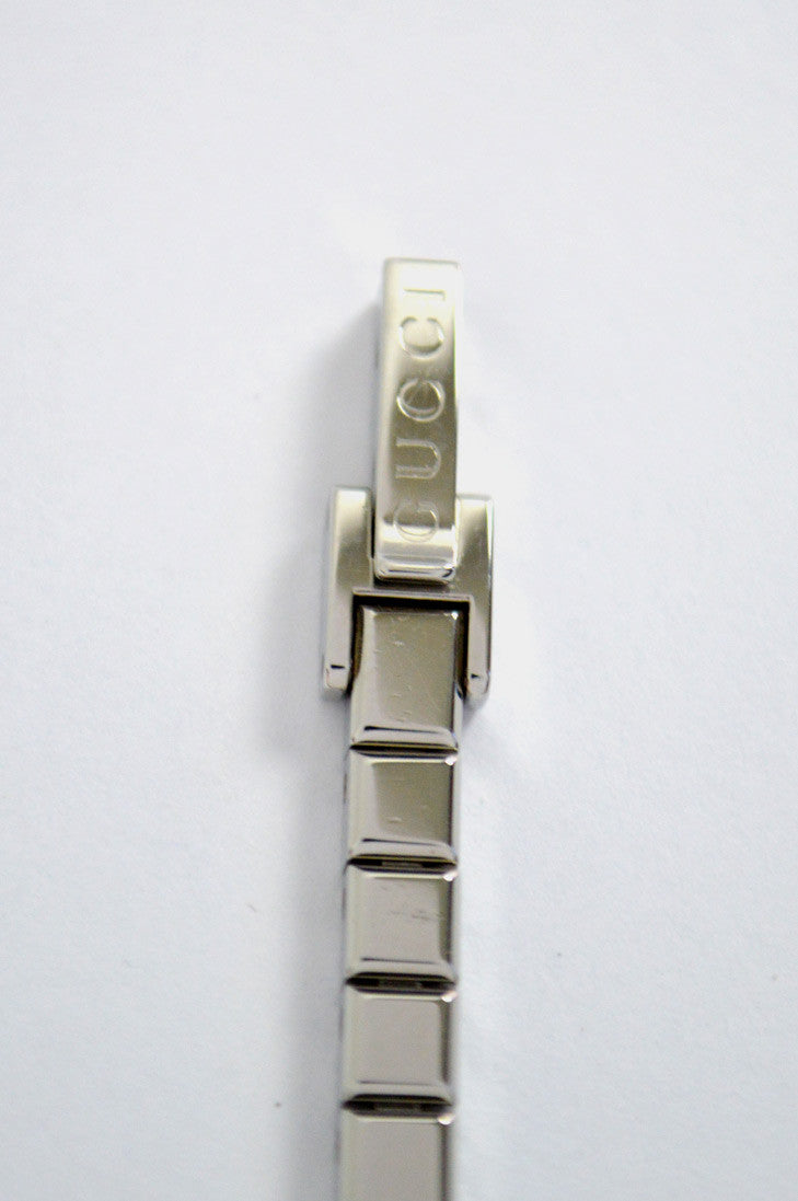 Stainless Steel With Diamond Case Watch