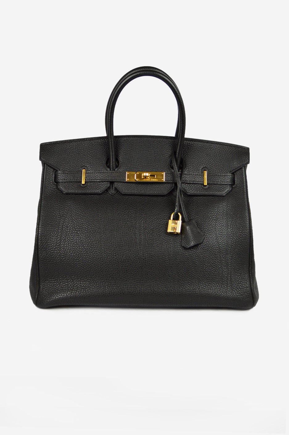 Black Togo Leather Birkin 35 GHW