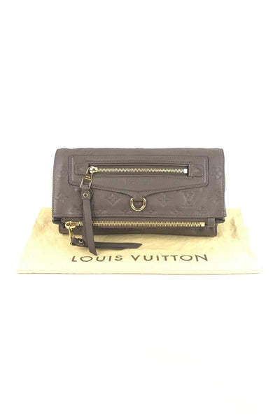 Ombre Empreinte Leather Petillante Clutch