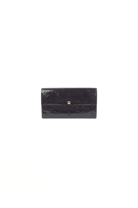 Bearn Classic Wallet Epsom Rose Jaipur Leather W/ GHW