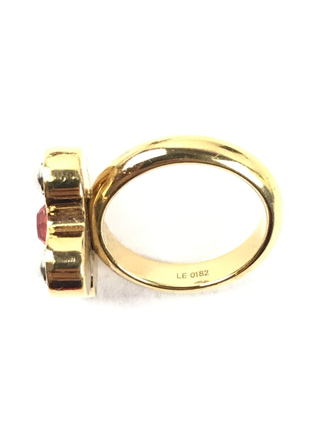 Gold/Siver Lover Letter Rings Set