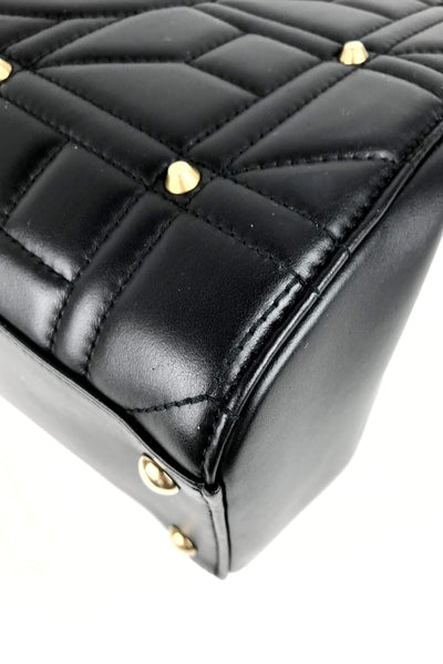 Black Limited Edition Marmont Leather Studded Tote - Haute Classics