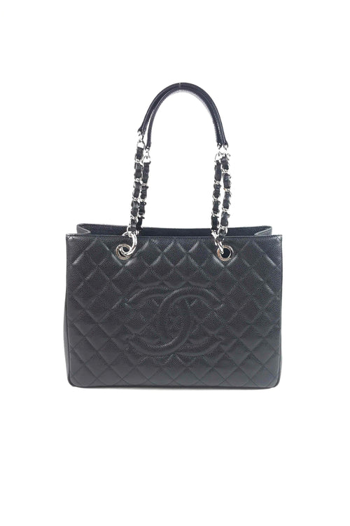 Black Caviar Grand Shopping Tote GST W/ SHW