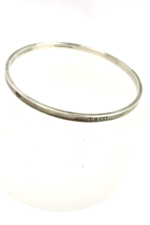 Sterling Silver Thin Bangle