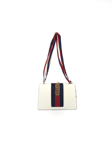 Small Sylvie Leather Bag w/ Rope Shoulder Strap & Leather Strap