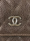 Brown Caviar Wallet On Chain W/SHW