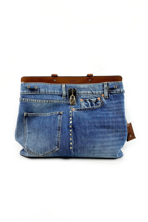 Limited Edition Denim Scout Joylock Maxi Tote