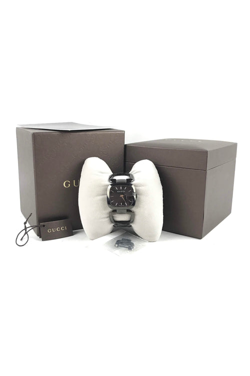 Black Ceramic G-Gucci Quartz Watch