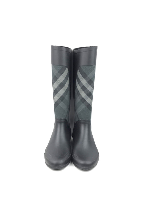 Smoke Check Rubber/Canvas Rain Boots