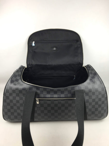 Damier Graphite Neo Eole 55 Rolling Duffle Bag