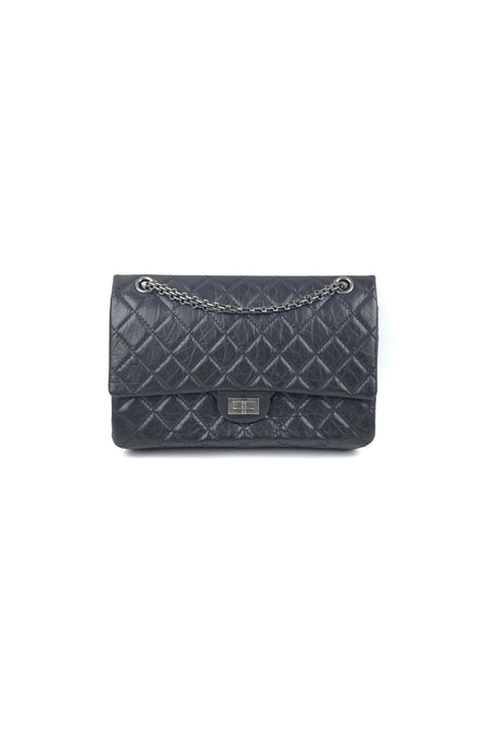 Black Vintage Quilted Lambskin W/ GHW