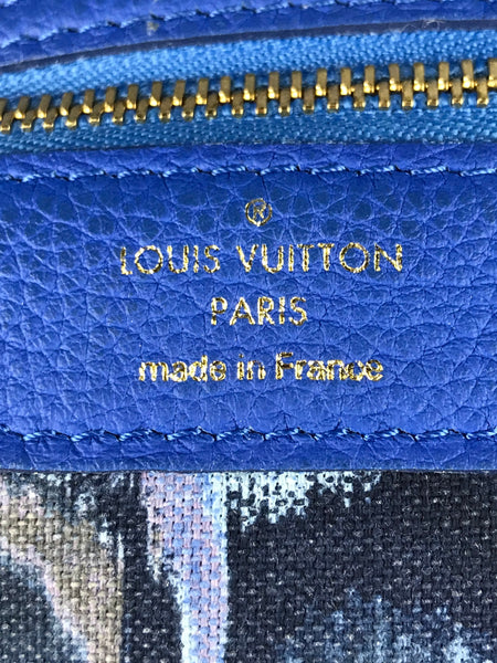 "Blue Limited Edition Monogram Articles De Voyage ""Neverfull GM"" Bag"