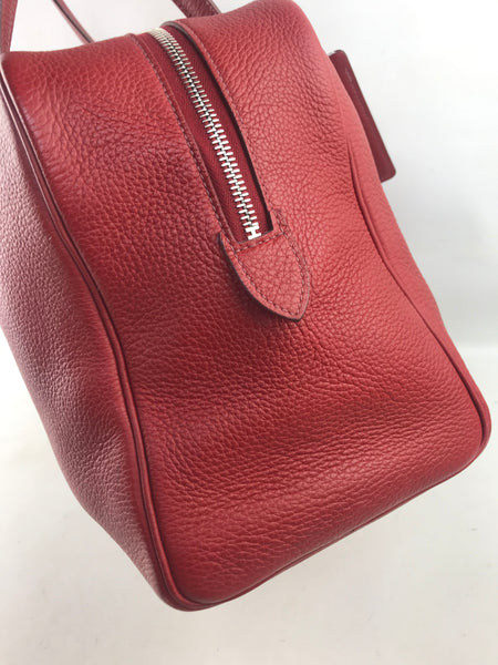 Red Victoria ll Clemence Leather 35 W/PHW