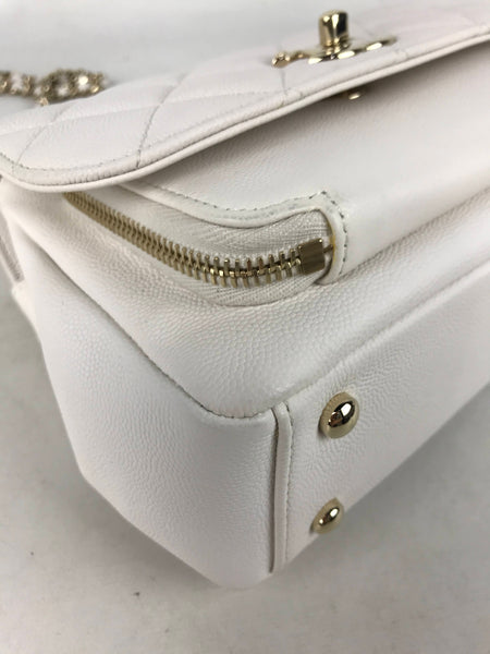 White Caviar Small Business Affinity Bag W/LGHW