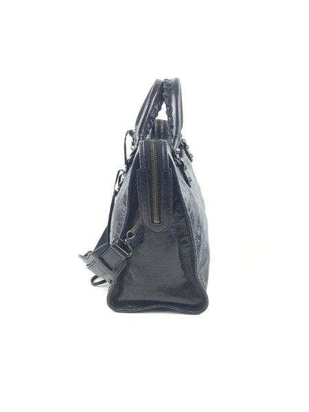 Noir Agneau Classic City Small Bag