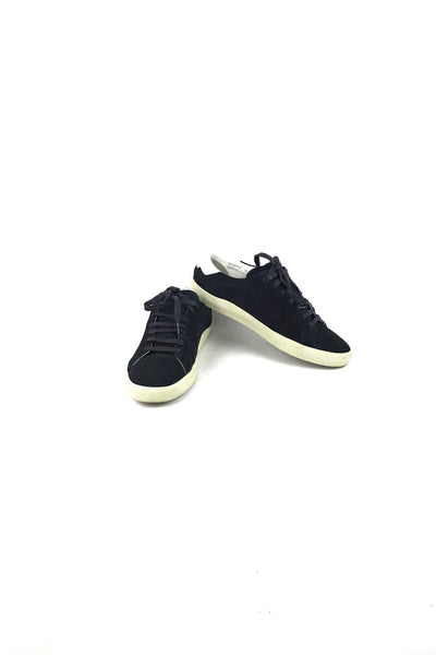 Nero Suede/Blanc Optique Leather Court Classic SL/06 Low Top Sneakers